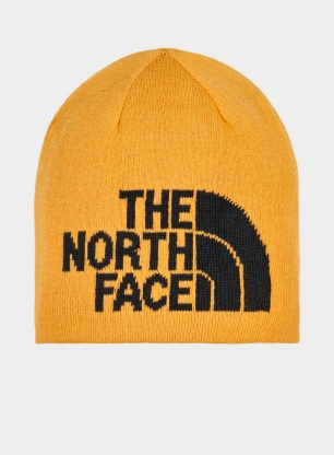 Czapka zimowa dwustronna The North Face Highline Beanie - gold/blk