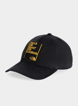 Czapka The North Face Walls Ball Cap - tnf black