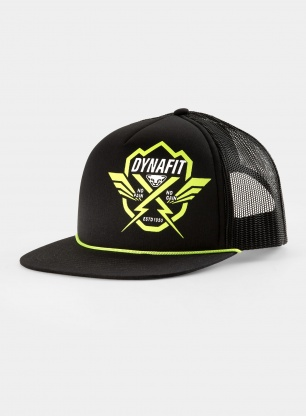 Czapka truckerka Dynafit Graphic Trucker Cap - black out/no pain