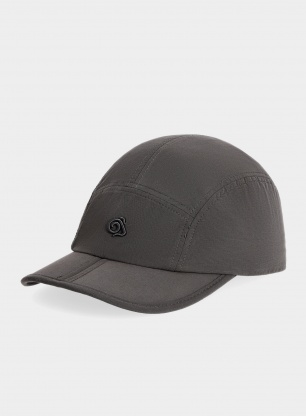 Czapka turystyczna Craghoppers Nosilife Packable Cap - black pepper