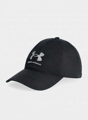 Czapka Under Armour Isochill Armourvent ADJ - black/pitch gray