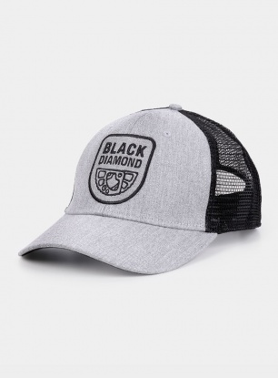 Czapka Black Diamond BD Trucker Hat - heathered aluminum/b