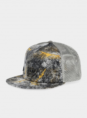 Czapka z daszkiem Buff Pack Trucker Cap - metal grey