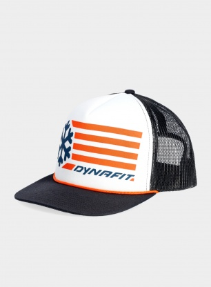 Czapka z daszkiem Dynafit Graphic Trucker Cap - white/orange