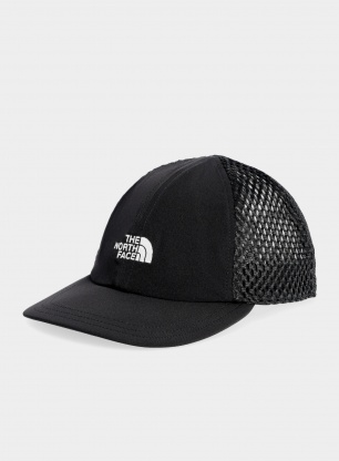 Czapka z daszkiem The North Face Runner Mesh Cap - black