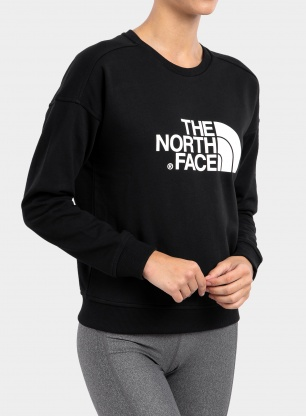 Damska bluza The North Face Drew Peak Crew - tnf black