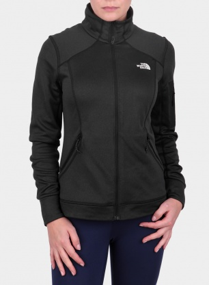 Damska bluza The North Face Impendor Powerdry Jacket - tnf black htr