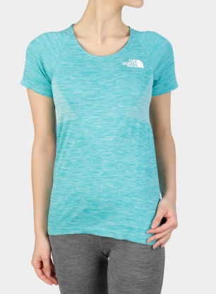 Damska koszulka The North Face Impendor Seamless Tee - green