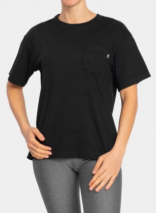 Damska koszulka The North Face Relaxed Pocket Tee - black