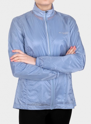 Damska kurtka Columbia F.K.T. Wind Jacket - dark mirage