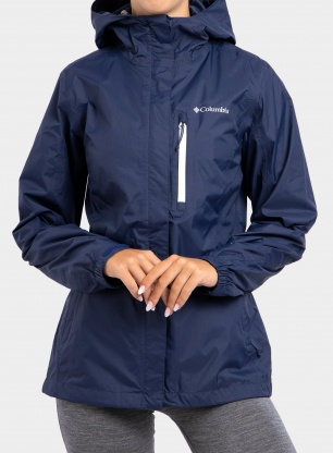 Damska kurtka Columbia Pouring Adventure Jacket - nocturnal