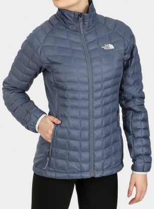 Damska kurtka The North Face Thermoball Sport Jacket - grisaille grey