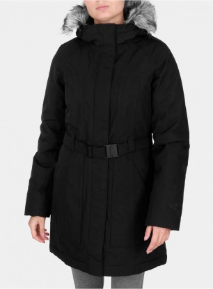 Damski płaszcz The North Face Brooklin Parka 2 - tnf black