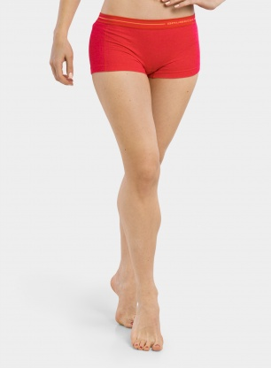 Damskie bokserki Brubeck Active Wool Boxer Shorts - raspberry