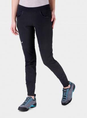 Damskie getry Salewa Agner DST Tights - black out