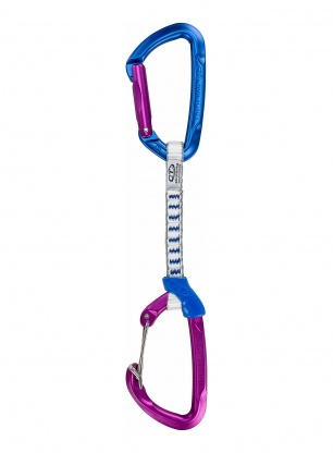 Ekspres wspinaczkowy Climbing Technology Berry Set DY 12 cm - purple