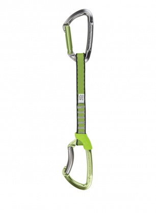 Ekspres wspinaczkowy Climbing Technology Lime Set NY 17 cm - green