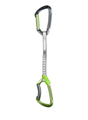 Ekspres wspinaczkowy Climbing Technology Lime Set DY 17 cm - green