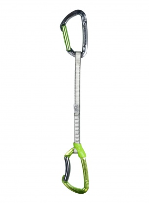 Ekspres wspinaczkowy Climbing Technology Lime Set DY 22 cm - green
