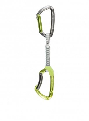 Ekspres wspinaczkowy Climbing Technology Lime Set DY 12 cm - green
