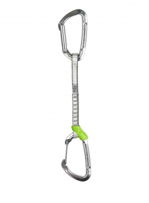 Ekspres wspinaczkowy Climbing Technology Lime Set M-DY 17 cm - silver