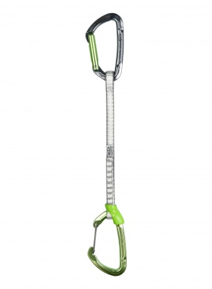 Ekspres wspinaczkowy Climbing Technology Lime Set M-DY 22 cm - green