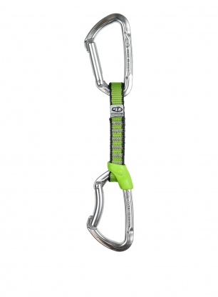 Ekspres wspinaczkowy Climbing Technology Lime Set NY 12 cm - silver