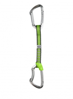 Ekspres wspinaczkowy Climbing Technology Lime Set NY 17 cm - silver