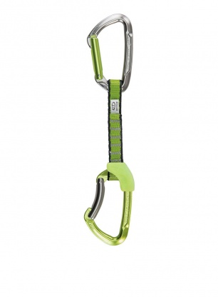 Ekspres wspinaczkowy Climbing Technology Lime Set NY 12 cm - green