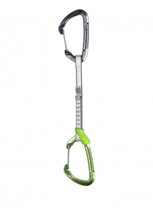 Ekspres wspinaczkowy Climbing Technology Lime Set W-DY 17 cm - green