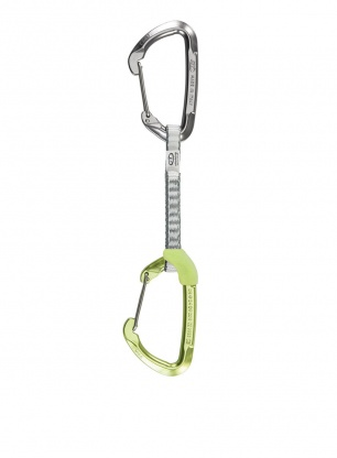 Ekspres wspinaczkowy Climbing Technology Lime Set W-DY 12 cm - green