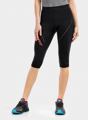 Getry damskie Dynafit Alpine 3/4 Tights - black out/pink