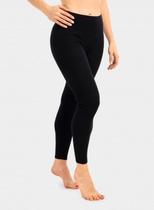 Getry damskie Patagonia Capilene Air Bottoms - black