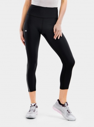 Getry damskie Under Armour Coolswitch 7/8 Legging - black/white