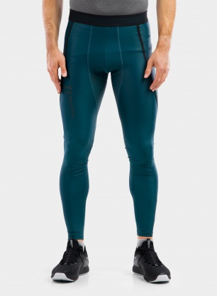 Getry Under Armour HG IsoChill Perf Leggings - d.cyan/black