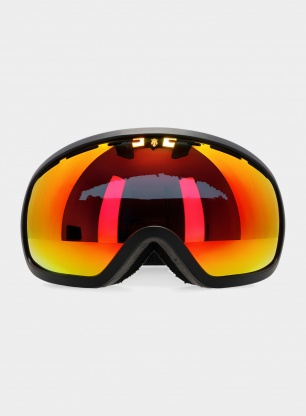Gogle Majesty One 11 - black/red ruby