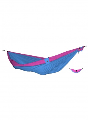 Hamak Ticket to The Moon Hammock Double - aqua/pink