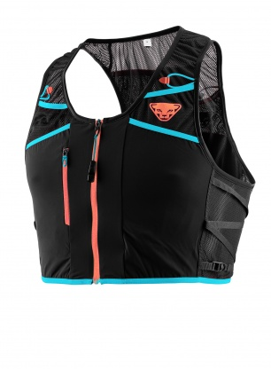 Kamizelka biegowa Dynafit Alpine Running Vest - black out/white