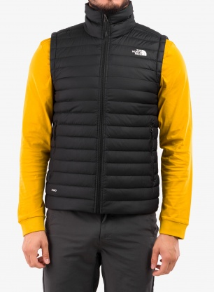 Kamizelka puchowa The North Face Stretch Down Vest - black