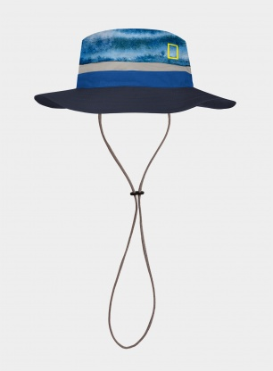 Kapelusz Buff Booney Hat Licenses National Geographic - blue