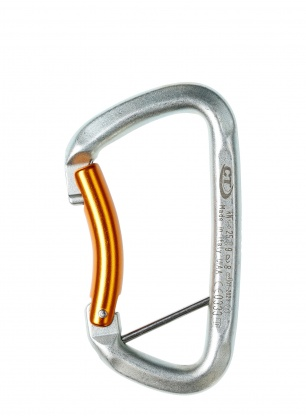 Karabinek Climbing Technology Gym S - silver/orange