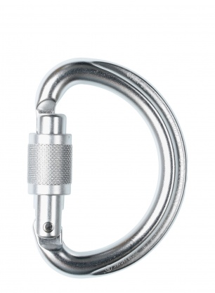 Karabinek Petzl Omni Screw Lock