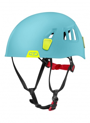 Kask Via Ferrata Climbing Technology Moon - light blue/lime