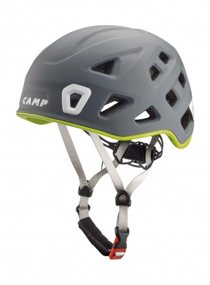 Kask wspinaczkowy Camp Storm - grey/green