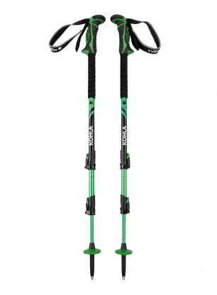 Kije Kohla Peak Alpine - white/green/black