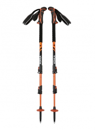 Kije trekkingowe Kohla Peak Alpine - white/orange/black