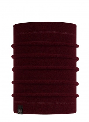 Komin zimowy Buff Polar Neckwarmer - maroon heather