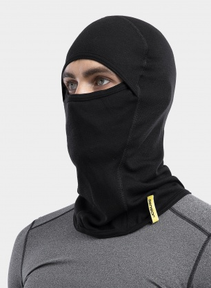 Kominiarka Sensor Double Face Balaclava - black