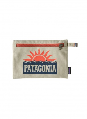 Kosmetyczka Patagonia Zippered Pouch - stop the rise/bleached stone