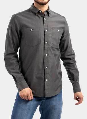 Koszula Black Diamond LS Solution Shirt - black/ash